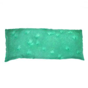 Deep Green salt eye pillow