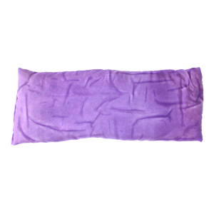 purple silk eye pillow